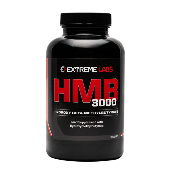 HMB Testosterone Booster - 180 Capsules - Extreme Labs